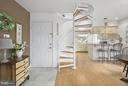 Delightful Winding Staircase - 10828 ANTIGUA TER #201, NORTH BETHESDA