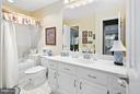 Main Level Full Bath - 10828 ANTIGUA TER #201, NORTH BETHESDA