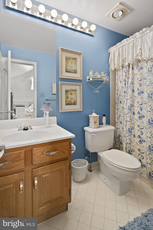 2nd Bedroom Full Bath - 10828 ANTIGUA TER #201, NORTH BETHESDA