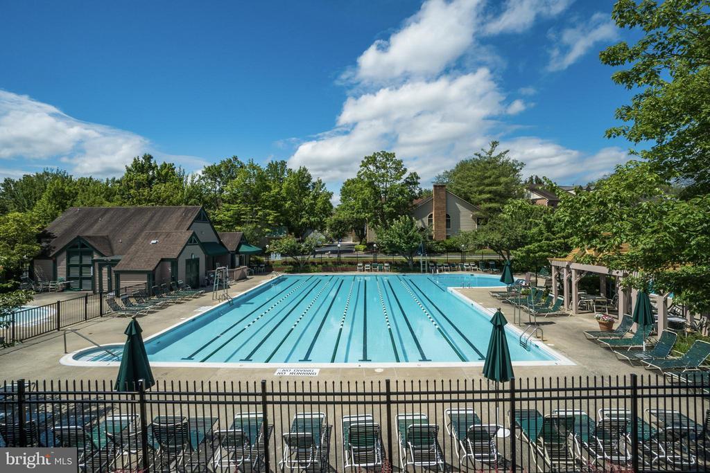 Large Community Pool - 10828 ANTIGUA TER #201, NORTH BETHESDA