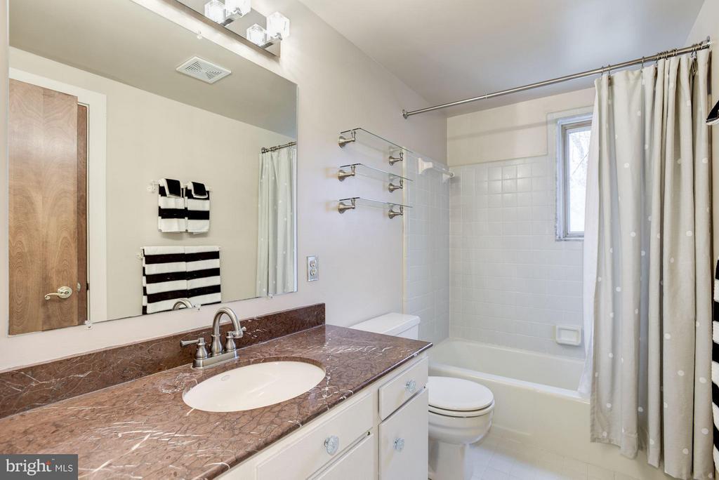 Upstairs hallway bathroom - 23009 COBB HOUSE RD, MIDDLEBURG
