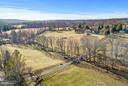 Meandering creek divides pastures - 23009 COBB HOUSE RD, MIDDLEBURG