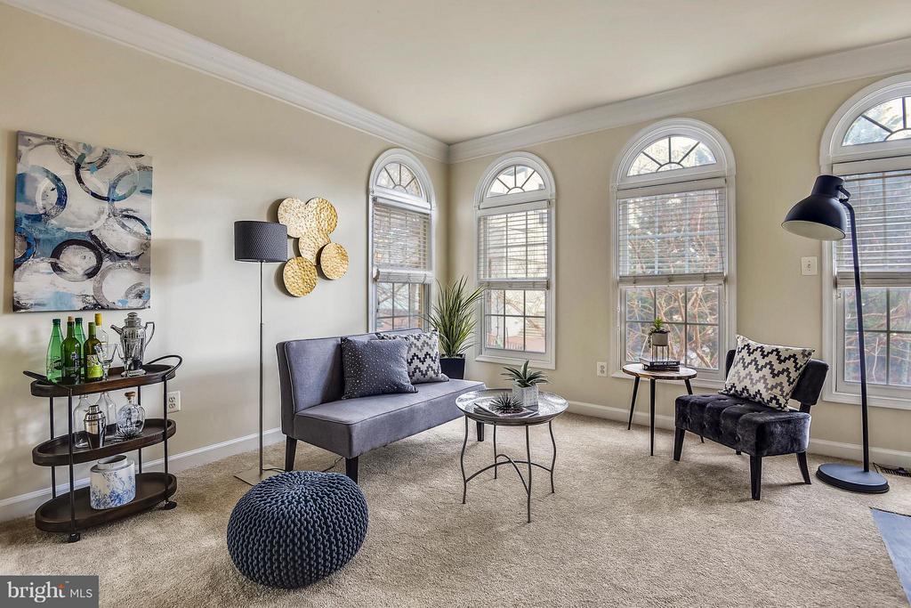 Living Room - 1221 FIDLER LN, SILVER SPRING