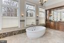 Main Level Master Bath - 105 POPLAR LN, OCCOQUAN