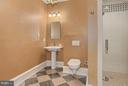 Lower Level Bath - 105 POPLAR LN, OCCOQUAN