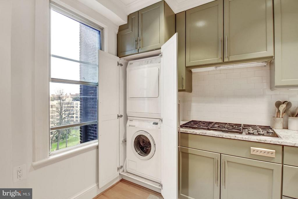 In unit clothes washer and dryer - 4000 CATHEDRAL AVE NW #704B, WASHINGTON