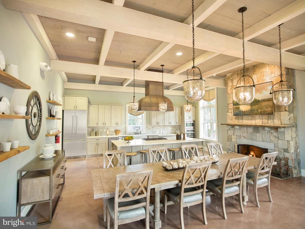 Tons of Social events happen in the demo kitchen! - 2305 HARMSWORTH DR, DUMFRIES