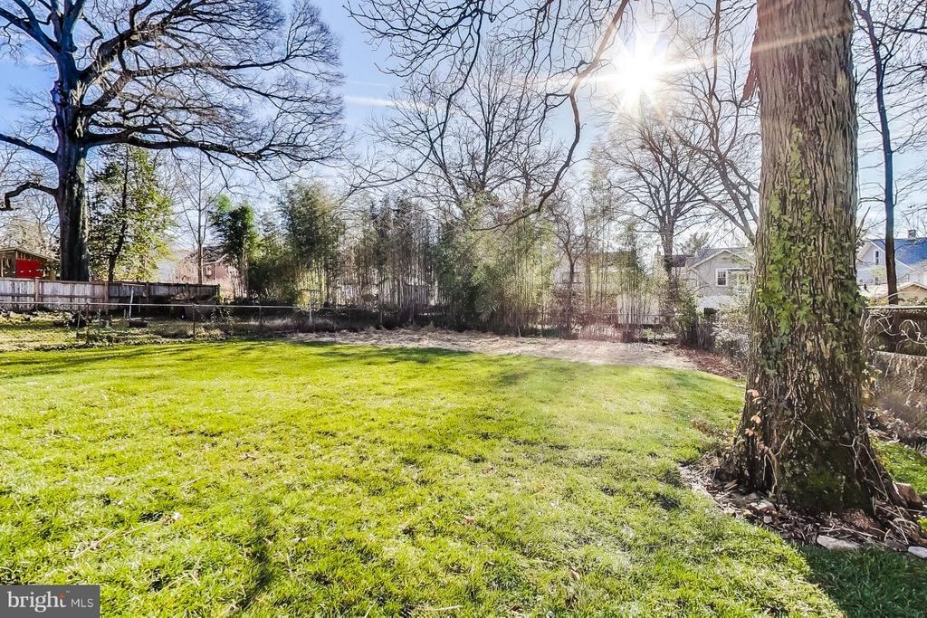 Lovely Flat backyard for entertaining - 4017 LONGFELLOW ST, HYATTSVILLE
