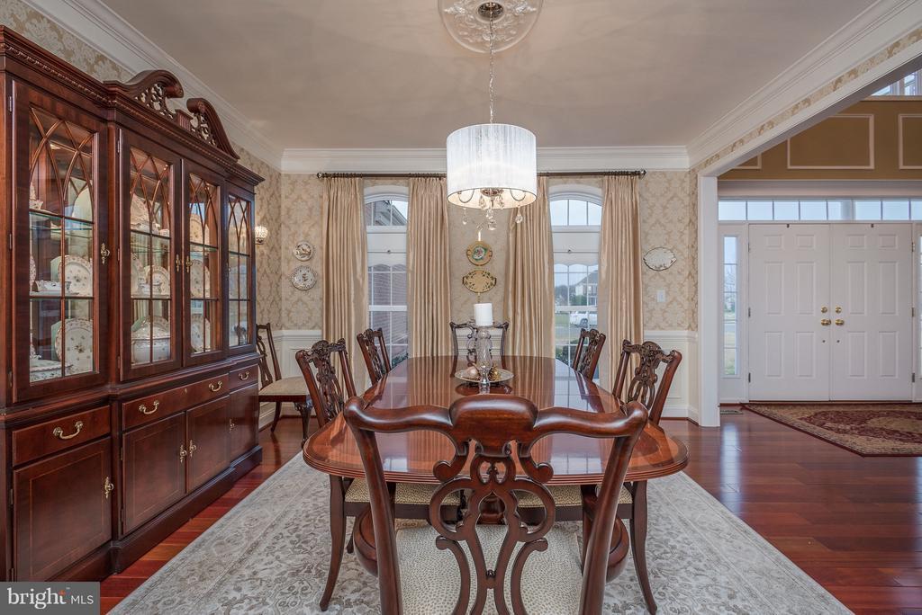 Elegant Formal Dining Area - 10 BOSTON CT, FREDERICKSBURG