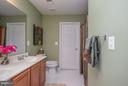 Full Bath Upstairs w/ Double Vanity - 10 BOSTON CT, FREDERICKSBURG