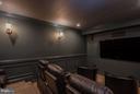 Basement Theater Room - 10 BOSTON CT, FREDERICKSBURG