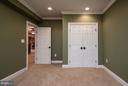 5th Bedroom in Basement Not to Code - 10 BOSTON CT, FREDERICKSBURG