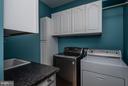 Main Level Laundry w/ Cabinets & Counters - 10 BOSTON CT, FREDERICKSBURG