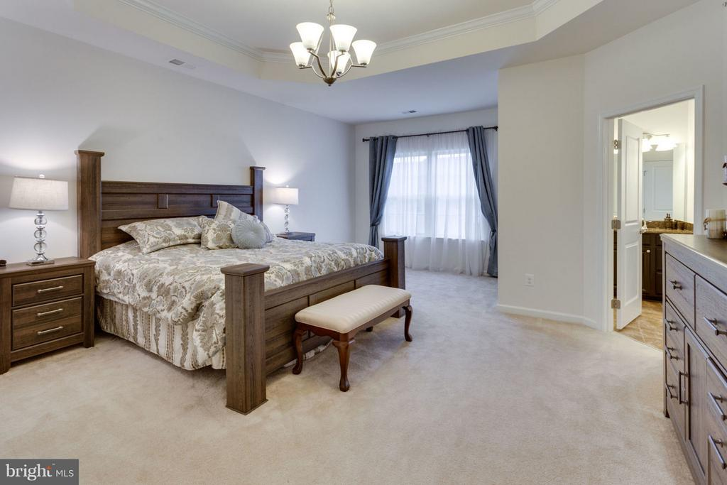 Massive owner's bedroom with sitting area - 7820 CULLODEN CREST LN, GAINESVILLE