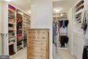 Closet Organizing Systems (only partially shown) - 43468 CASTLE HARBOUR TER, LEESBURG