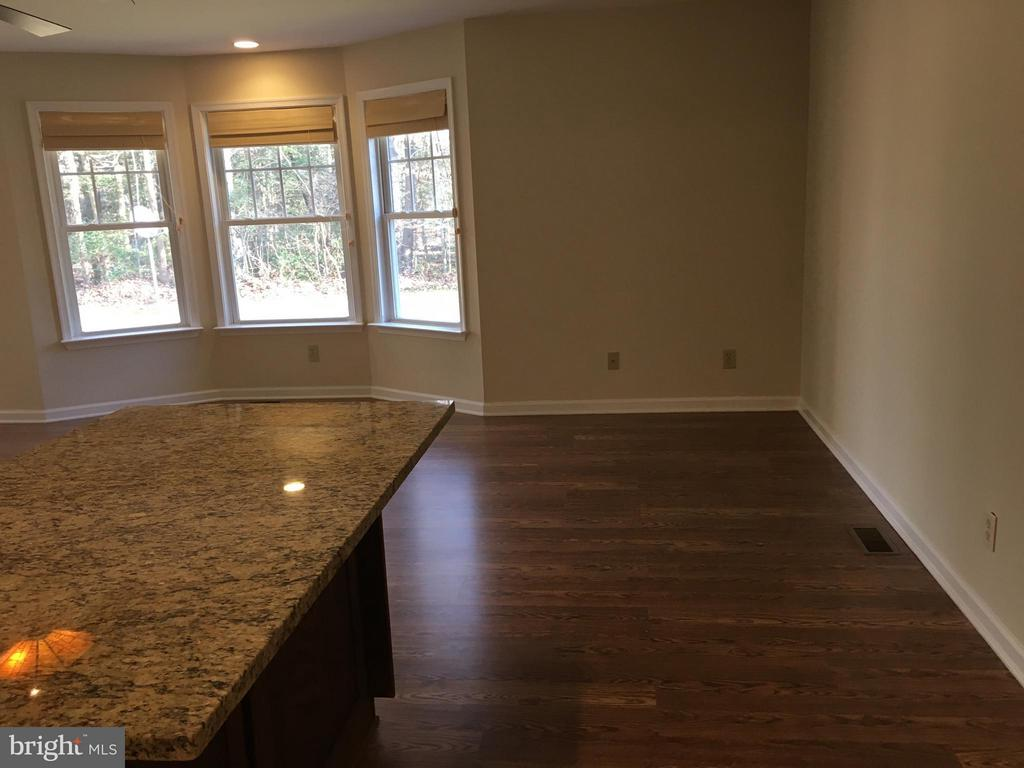 Counter with overhand for stools - 8427 BATTLE PARK DR, SPOTSYLVANIA