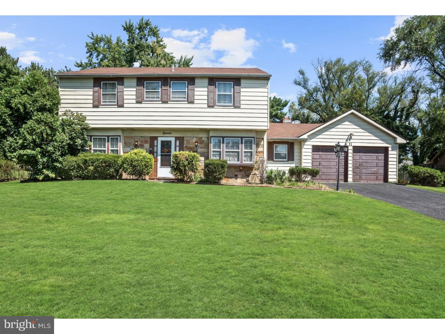Single Family Home for Sale at 11 CRESTVIEW Drive Willingboro Township, New Jersey 08046 United States