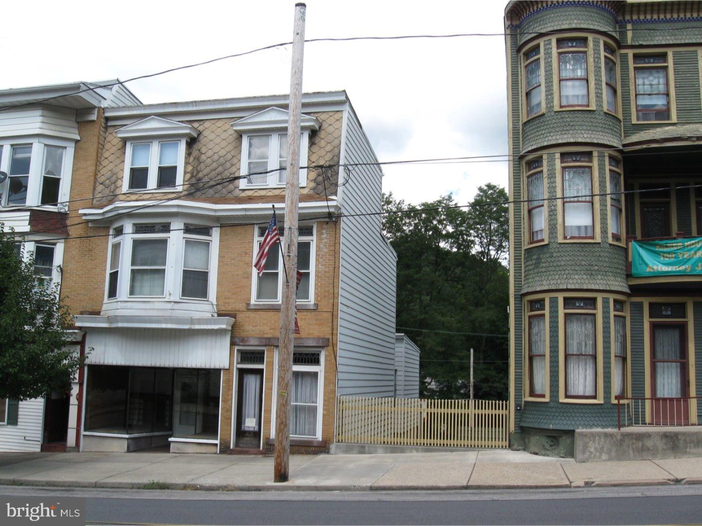 Single Family Home for Sale at 26 W MAIN Street Girardville, Pennsylvania 17935 United States