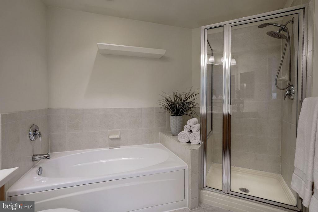 Separate shower and soaking tub - 1000 N RANDOLPH ST #305, ARLINGTON