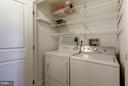 Washer & Dryer in the unit - 1000 N RANDOLPH ST #305, ARLINGTON