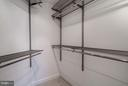 Walk-in Closet in Master Bedroom - 1000 N RANDOLPH ST #305, ARLINGTON