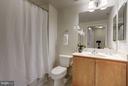 Second full bath - 1000 N RANDOLPH ST #305, ARLINGTON