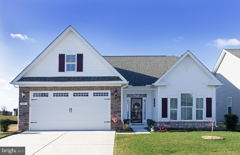Частный односемейный дом для того Продажа на 43 WATERSIDE Drive Bridgeville, Делавэр 19933 Соединенные ШтатыВ/Около: Bridgeville