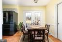 Sunny breakfast room with french doors  to patio - 2321 CONTEST LN, HAYMARKET