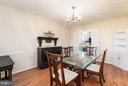 Formal dining room - 2321 CONTEST LN, HAYMARKET