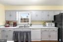 Charming country-style kitchen - 2321 CONTEST LN, HAYMARKET