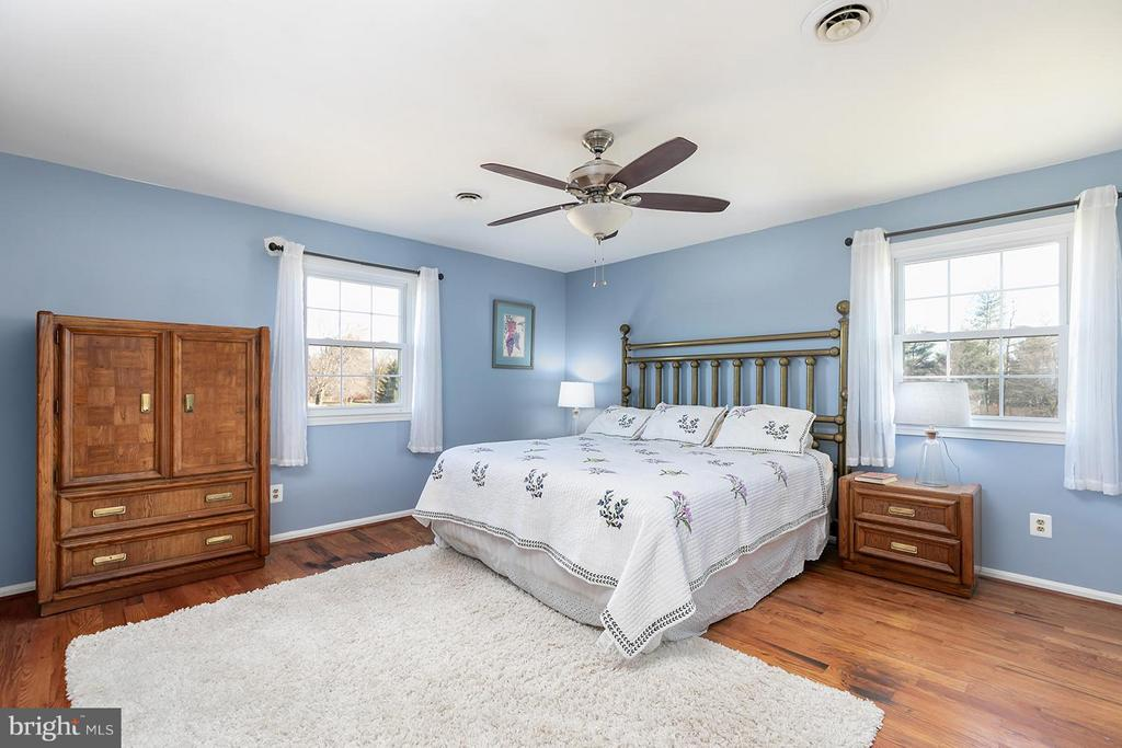 Dreamy master suite features his and her closets - 2321 CONTEST LN, HAYMARKET
