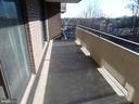Balcony - 1800 OLD MEADOW RD #618, MCLEAN