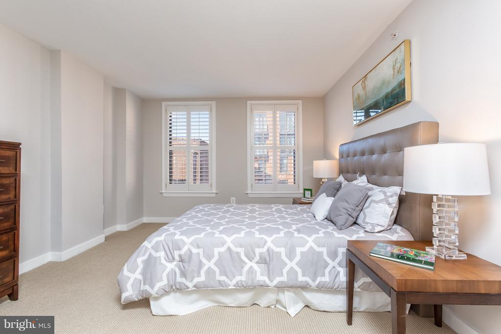 Large master suite features double closets. - 616 E ST NW #1150, WASHINGTON