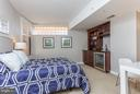 Spacious third bedroom/guest suite. - 616 E ST NW #1150, WASHINGTON