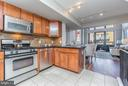 Main level open plan layout. - 616 E ST NW #1150, WASHINGTON