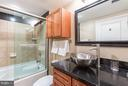 Soaking tub and ample storage. - 616 E ST NW #1150, WASHINGTON
