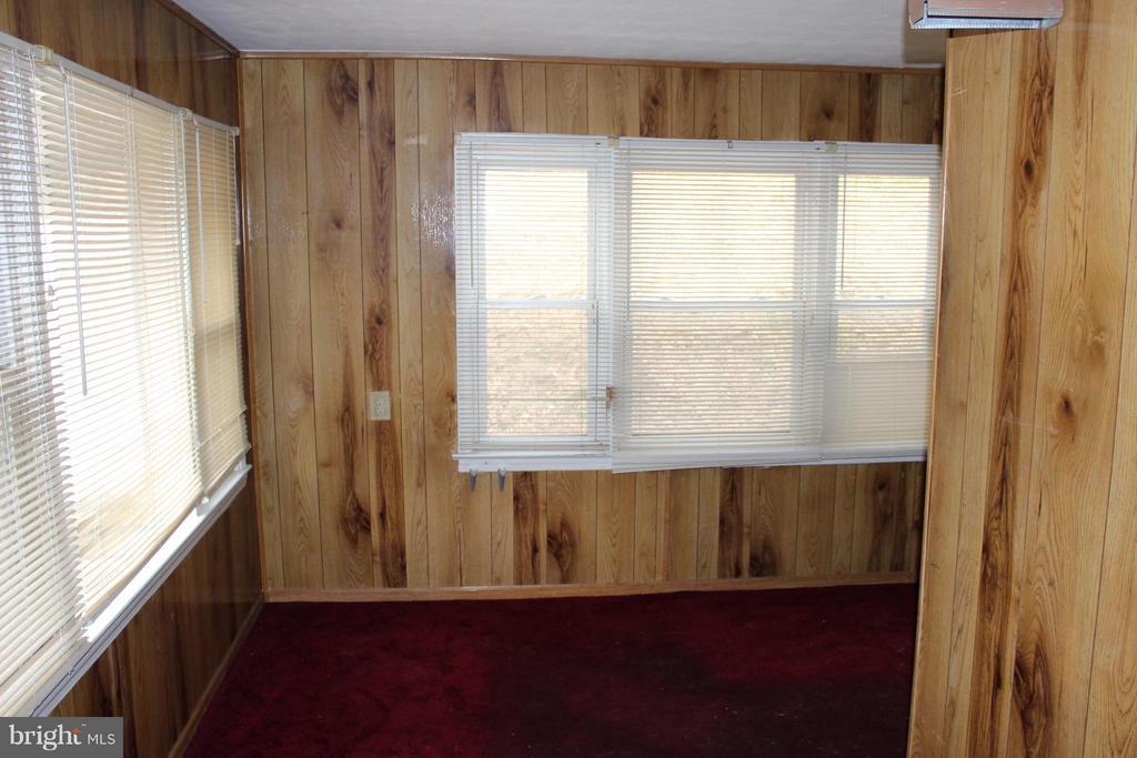 Den, large windows to back with loads of light - 7106 HAWTHORNE ST, LANDOVER