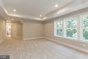 Master Bedroom with Tray Ceiling - 6607 ACCIPITER DR, NEW MARKET