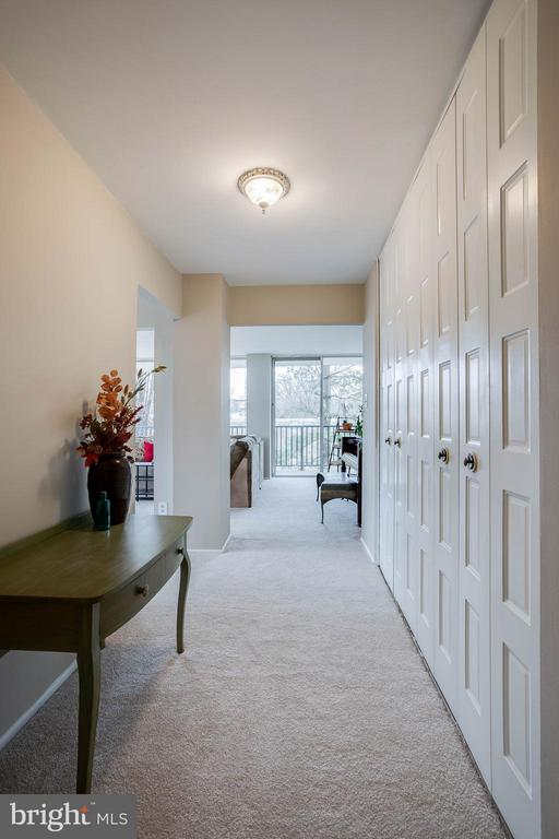 Foyer area and hallway. Spacious and well lit. - 3333 W UNIVERSITY BLVD #511, KENSINGTON