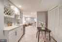 Finished Basement Kitchen - 948 WESTMINSTER ST NW, WASHINGTON