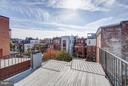 Roof Top Deck - 948 WESTMINSTER ST NW, WASHINGTON