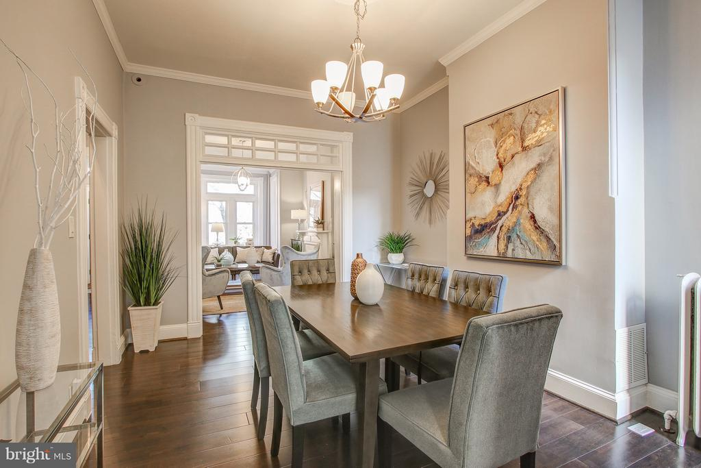 Formal Dining Area - 948 WESTMINSTER ST NW, WASHINGTON
