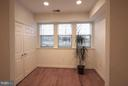Sunroom with so much natural light. - 10328 SAGER AVE #113, FAIRFAX