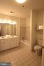 Spacious master bathroom - 10328 SAGER AVE #113, FAIRFAX