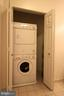 Stacked washer and dryer convey - 10328 SAGER AVE #113, FAIRFAX