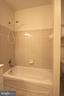 Shower and tub - 10328 SAGER AVE #113, FAIRFAX