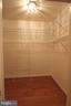 Walk in master bedroom closet - 10328 SAGER AVE #113, FAIRFAX