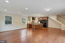 Open concept kitchen/dining/living room - 5201 MOUNT VERNON MEMORIAL HWY, ALEXANDRIA
