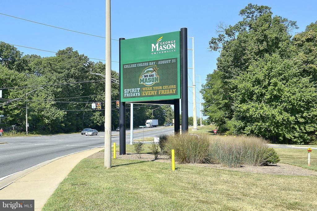 George Mason University sports. - 10328 SAGER AVE #113, FAIRFAX