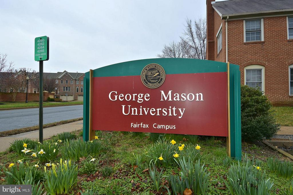 George Mason University lectures, music and more - 10328 SAGER AVE #113, FAIRFAX